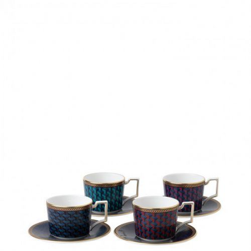 Byzance Espresso Cup & Saucer (Set of 4)